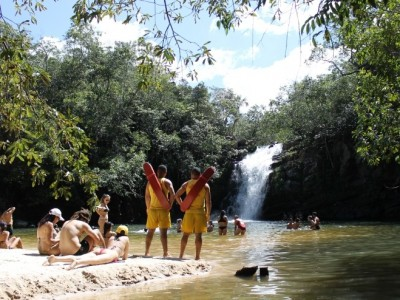 Cachoeira Santa Maria e Cachoeira do Lázaro