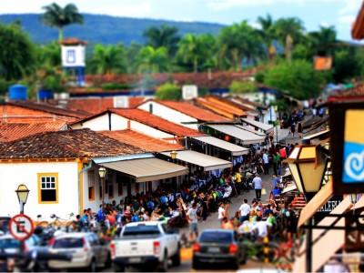 Rua do Lazer em Pireópolis