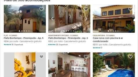Tipos de Hospedagem em Pirenópolis
